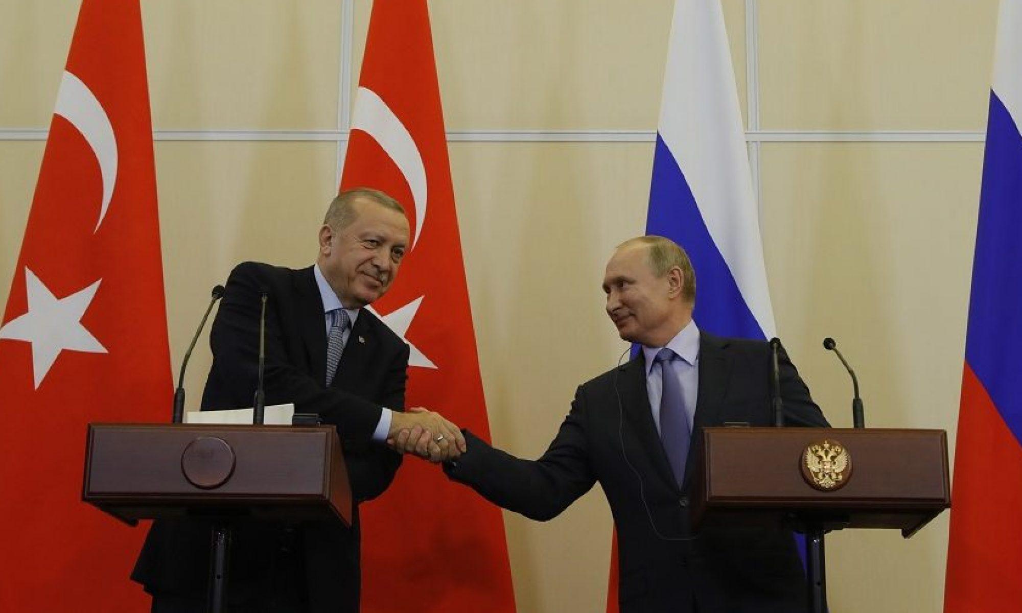 Soçi, Türkiye, Putin, Rojava RUSYA VE TÜRKİYE ROJAVA'YI KENDİ ARALARINDA PAYLAŞTI