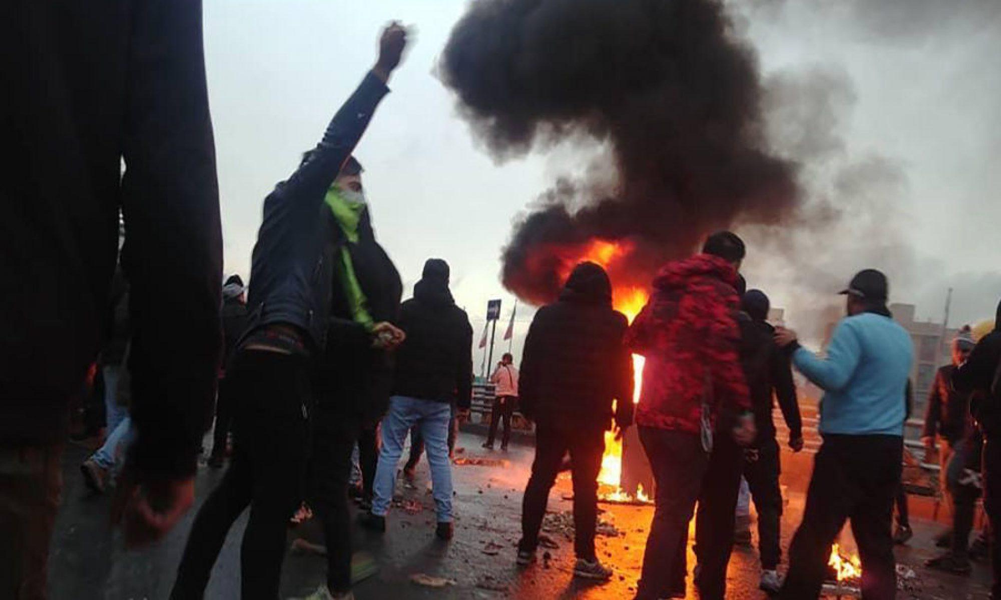 Doğu Kürdistan'da ki protesto gösterilerinde ölü sayısı 35'e ulaştı iran Hameney,