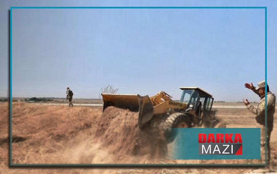 YPG Rojava ve Güney arasında hendek kazıyor