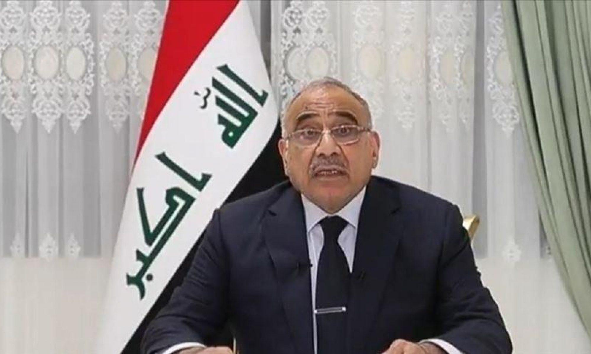 Irak Başbakanı Adil Abdulmehdi istifa ediyor