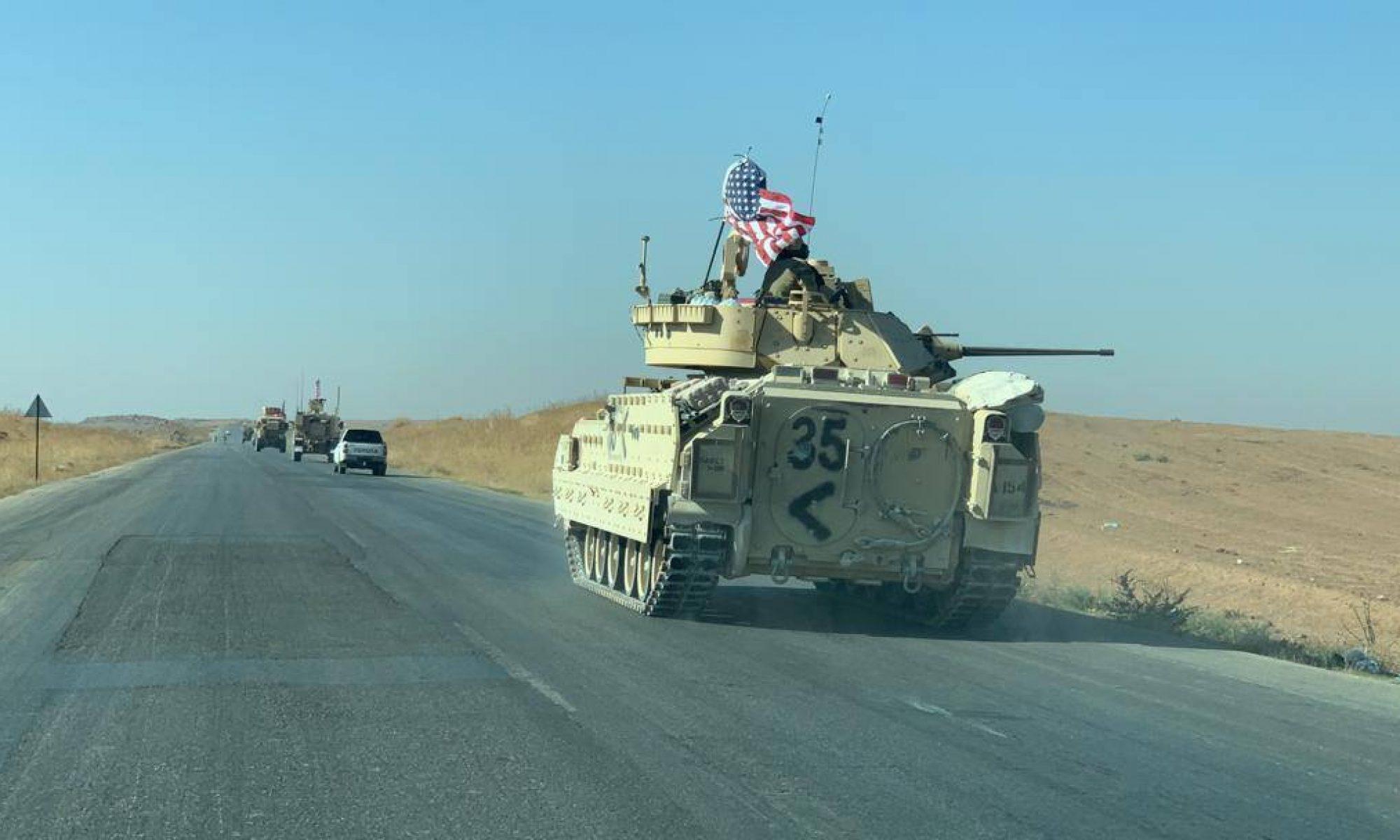 ABD Askeri konvoyu Kobani'de