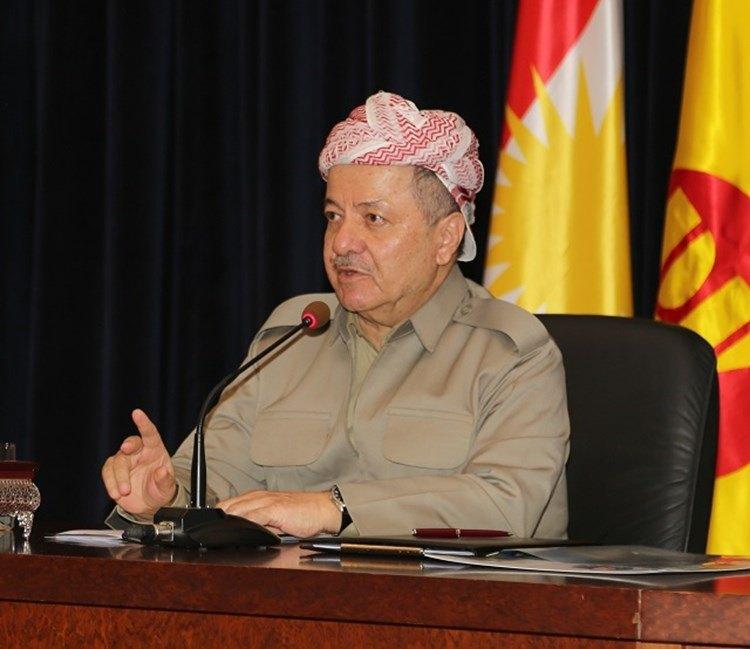 Barzani; Anayasa değişimi baskı ile yapılamaz