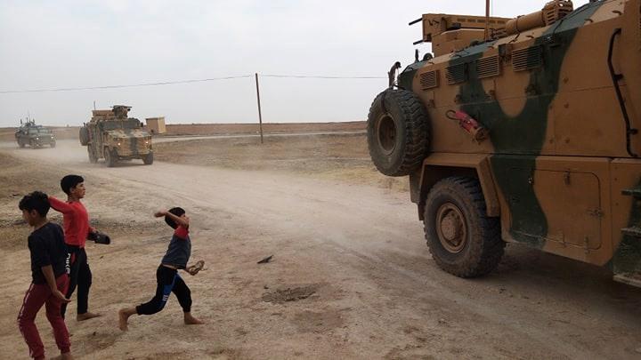 Rojava halkı Türk- Rus ortak devriyesini bu günde taşladı
