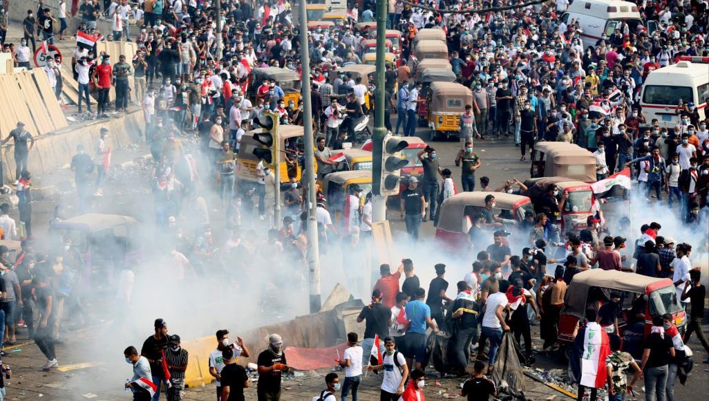 Bu gün Irak'ta ki gösterilerde 6 kişi öldürüldü, 158 kişi ise yaralandı
