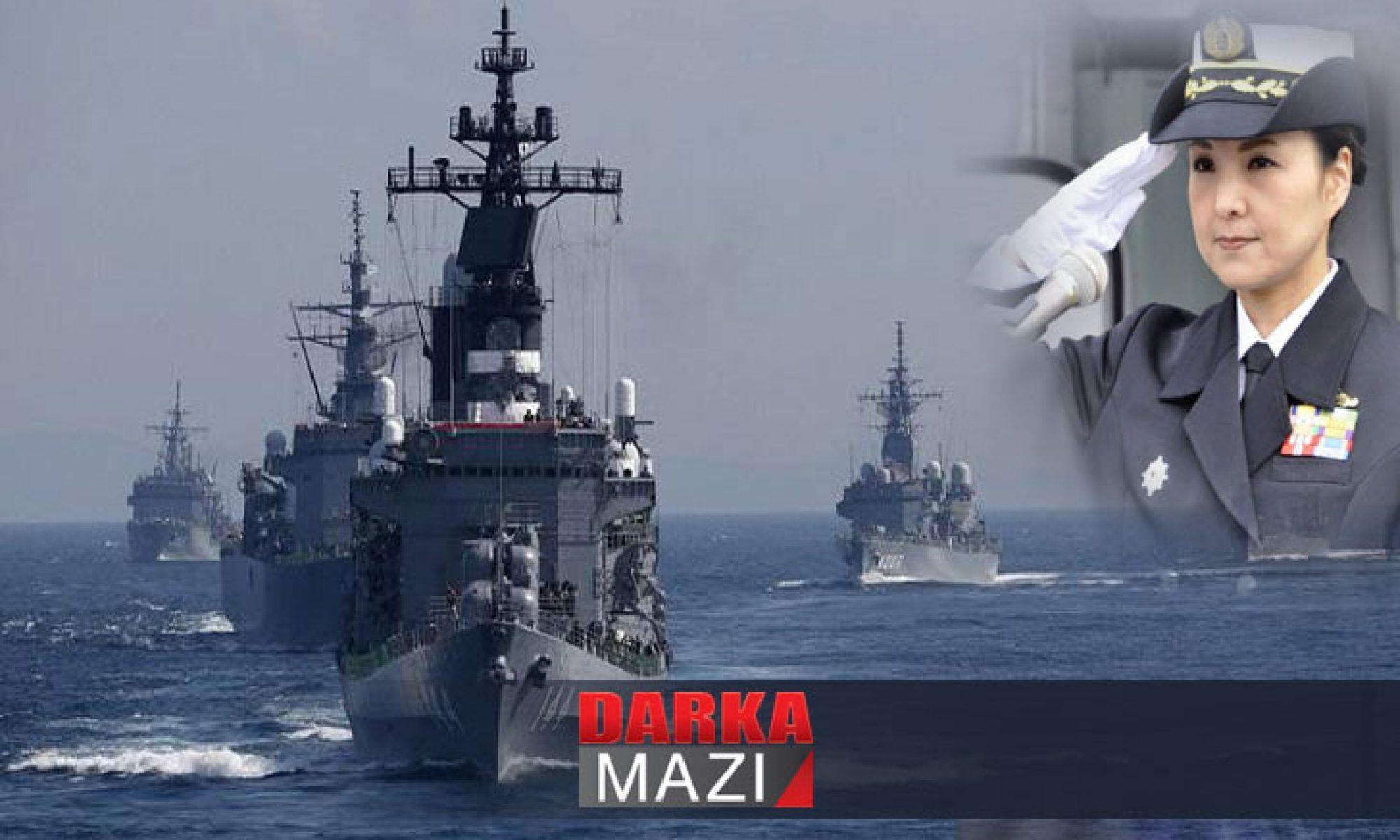 Savaş gemisinde bir kadın komutan