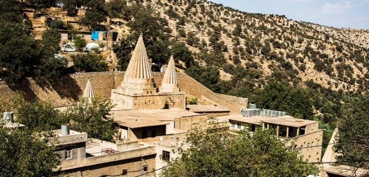 Ezdilerin Kutsal Mekanı Laleş'te restorasyon başladı