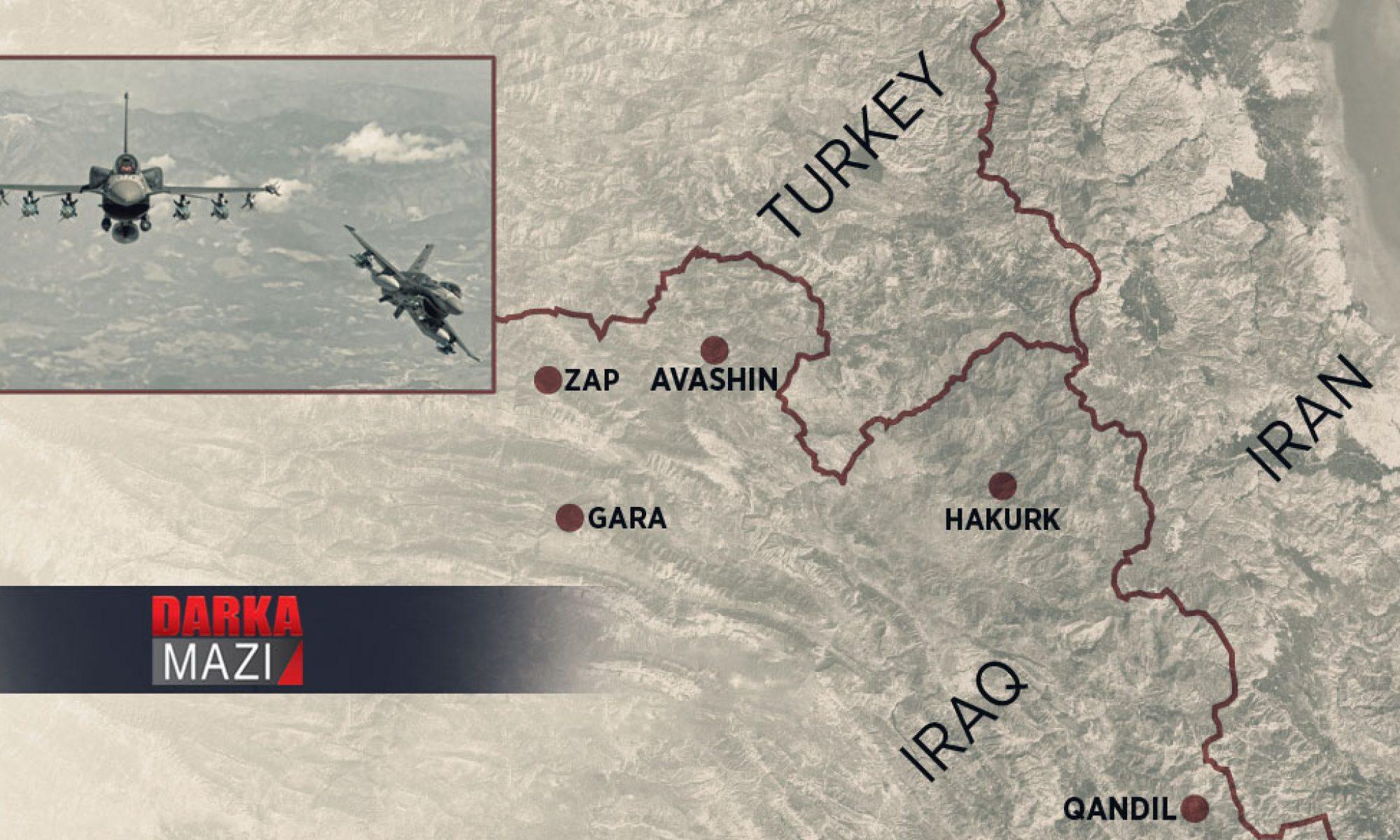 Zap'ta üç gerilla hayatın kaybetti iddiası