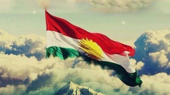 Kürdistan Bayrağı Kürt ulusal birliği ve kurtuluşunun sembolüdür