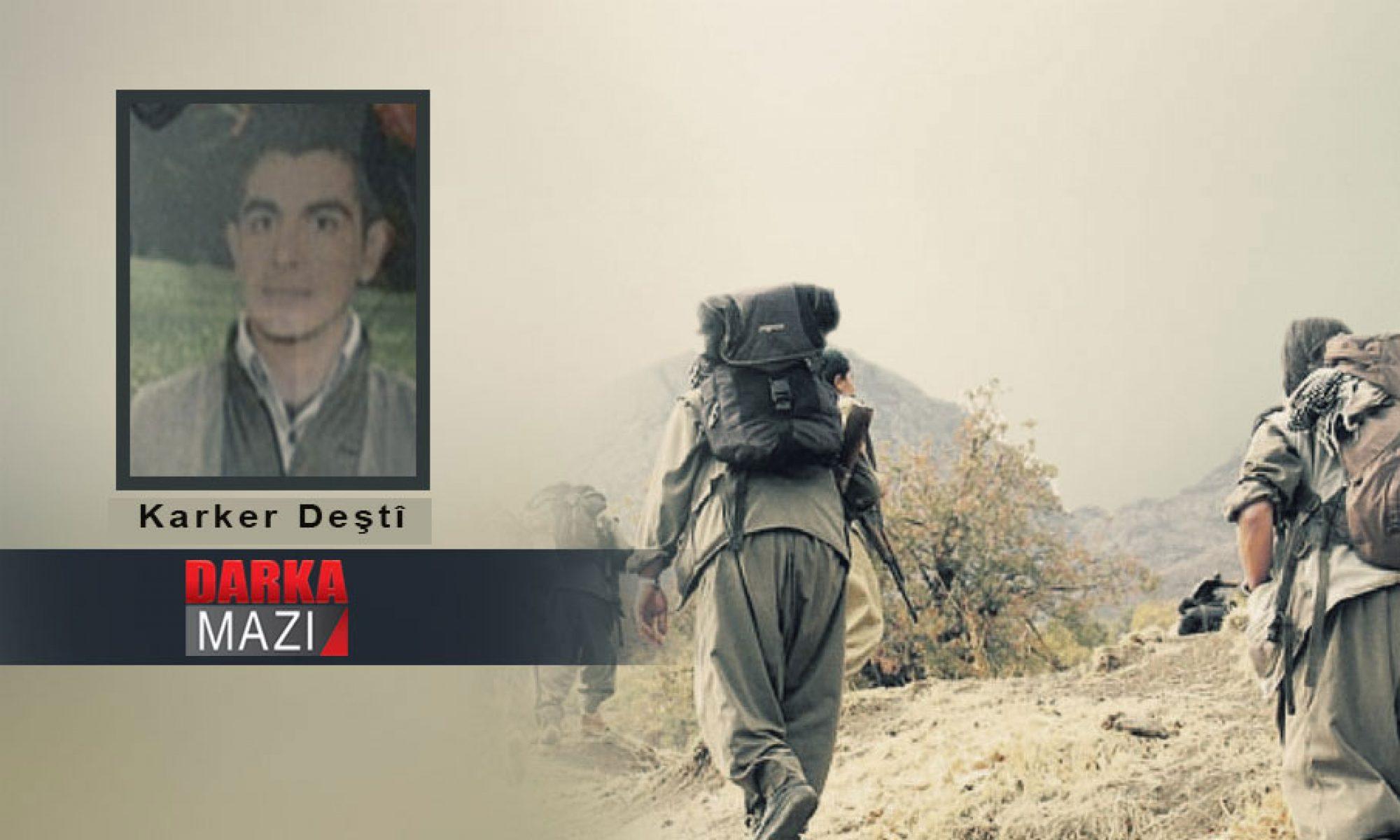HPG komutanlarından Karker Deşti'nin hayatını kaybettiği iddia edildi