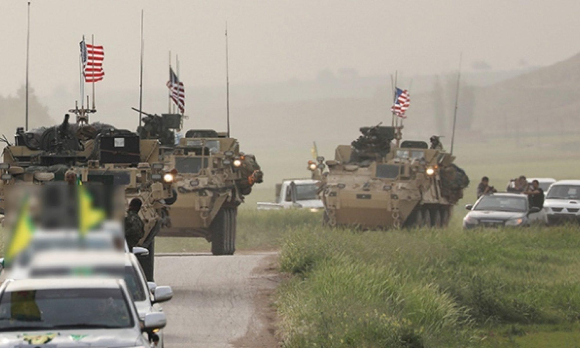 Til Temer,, Rojava KürdistanABD ordusu Rus konvoyunun geçişine izin vermedi