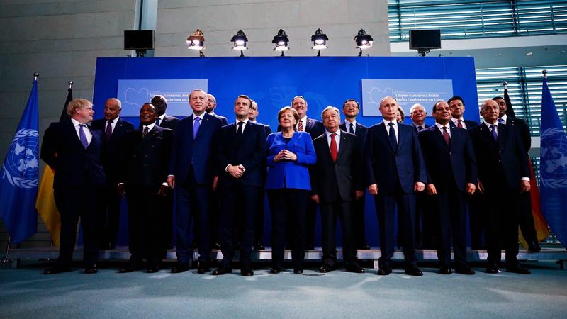 """Libya Konferansı'ndan """" Libya'ya Silah Ambargosu"""" kararı çıktı"""