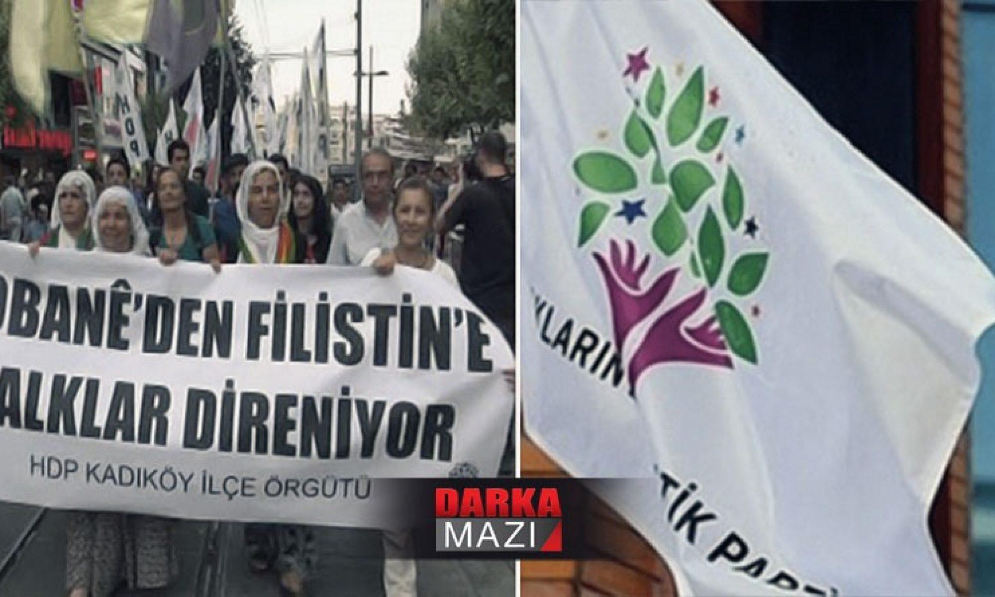 HDP'ten Kürdistana Türkiyelileşme, Filistin'e Devlet çözümü