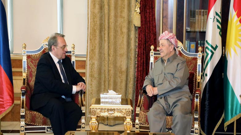Başkan Barzani ve Mihail Bogdanov Erbil-Moskova ilişkilerini görüştü