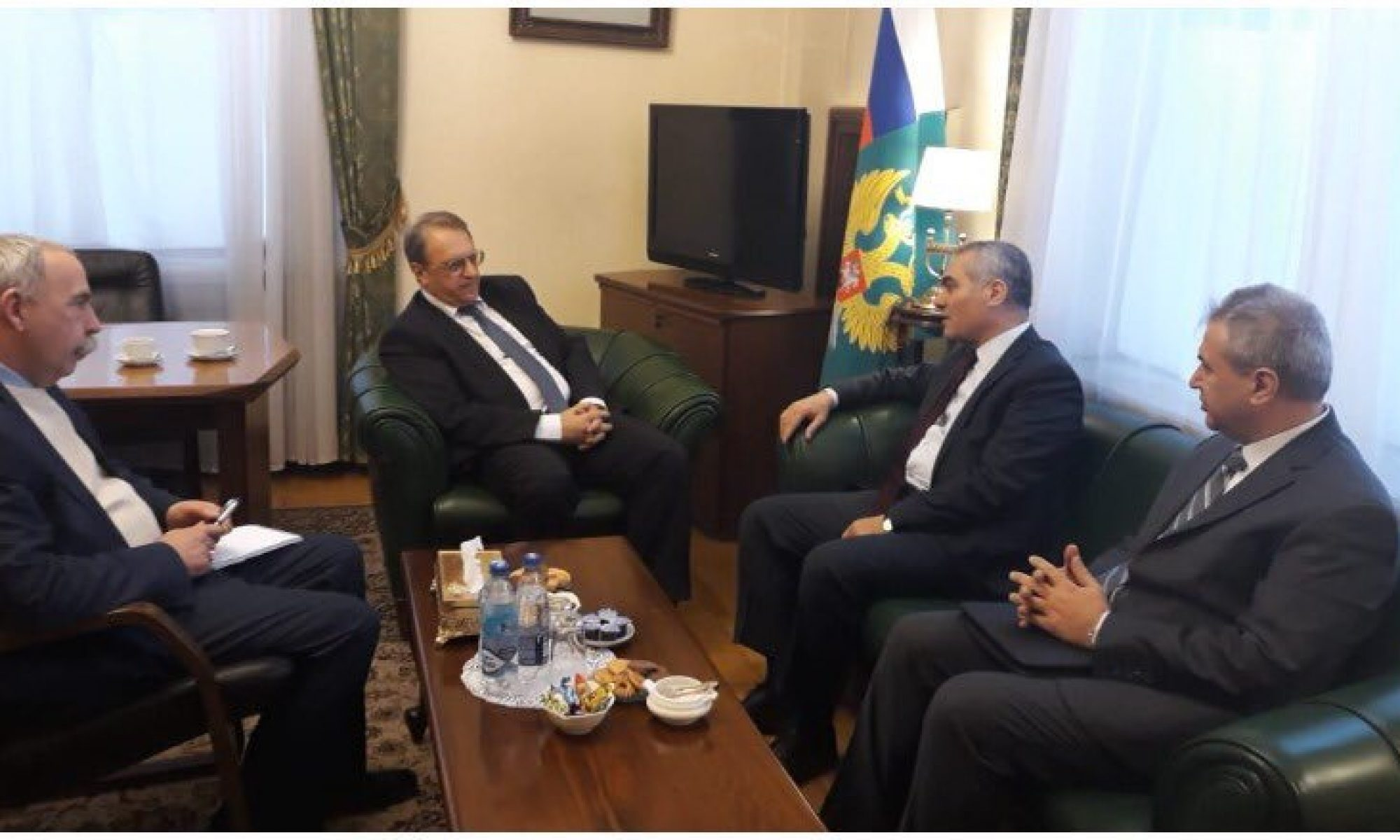 """Bogdanov- ENKS görüşmesinde """" Kürtler birlik olsun mesajı"""""""