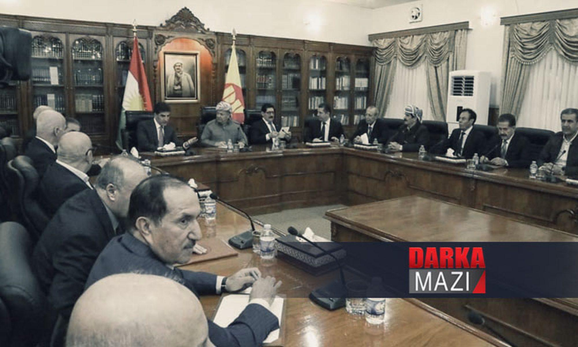 KDP 2020 yılı içinde parti kongresini gerçekleştirecek PDK, Kürdistan Mesut Barzani