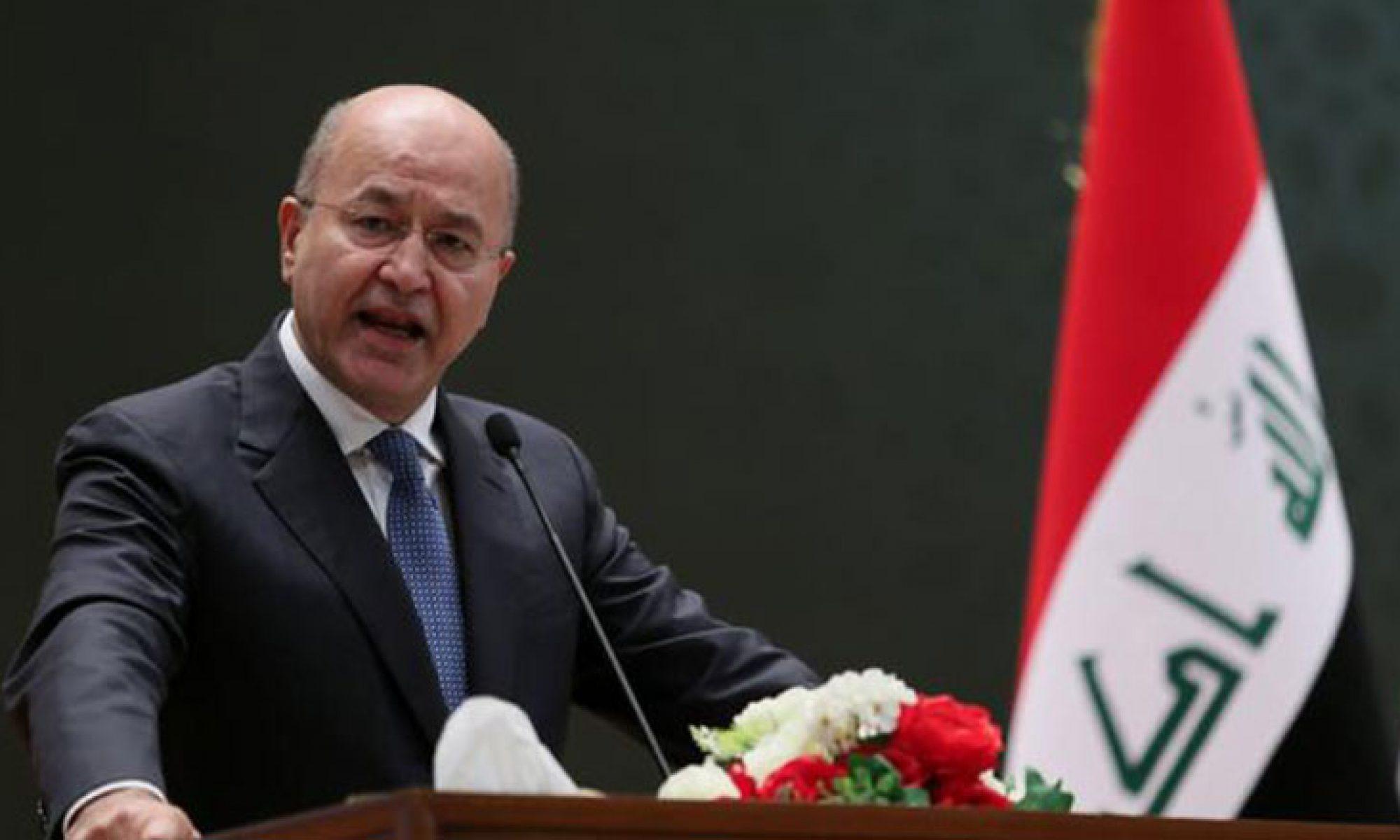 Irak Cumhurbaşkanı'ndan partilere 3 gün süre