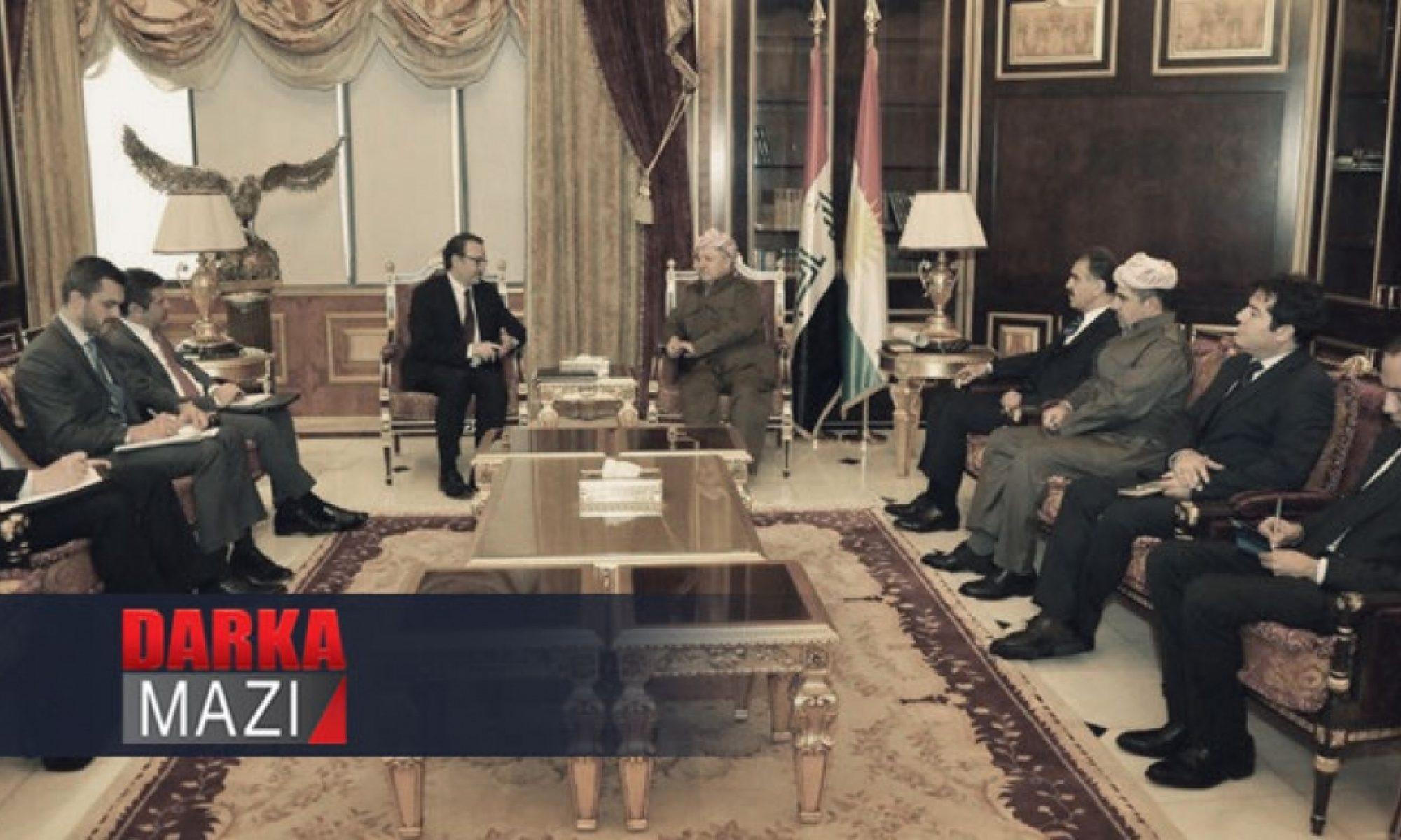 Mesut Barzani: Koalisyonun çekilmesi terörü güçlendirir