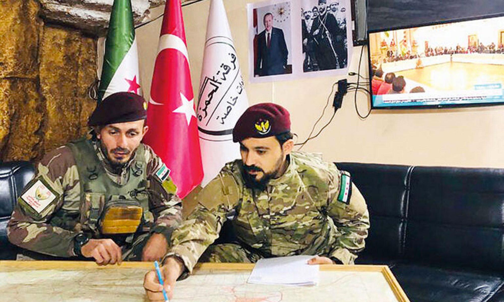 Türkiye destekli Özgür Suriye Ordusu mensubu öldürüldü