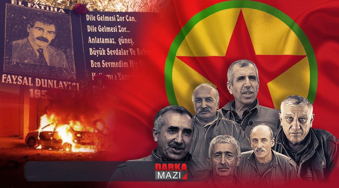 PKK tarafından katledilişinin 14. yıl dönümünde Kani Yılmaz'ın anısına; PKK'de tasfiyeciliğin tasfiyesi ve kahramanların hain oluşu üzerine Faysal Dumlayıcı, Cemil Bayık, PKK,