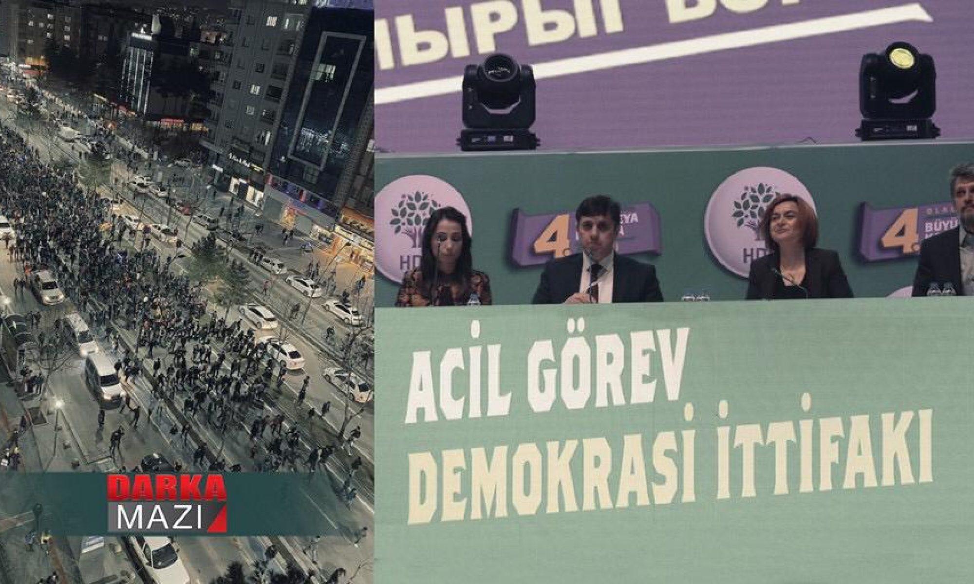 HDP'nin Kongre zaferi, Galatasaray'ın deplasman zaferi ve Kürtlerin yenilgisi