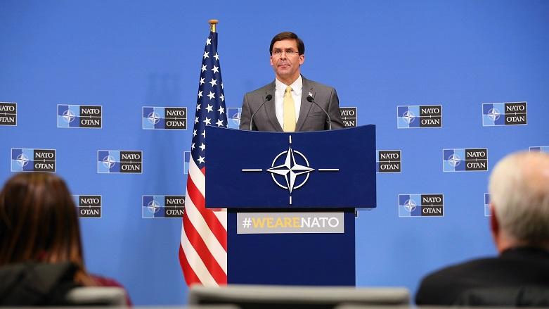 Esper: NATO Irak'a daha fazla güç göndermeli