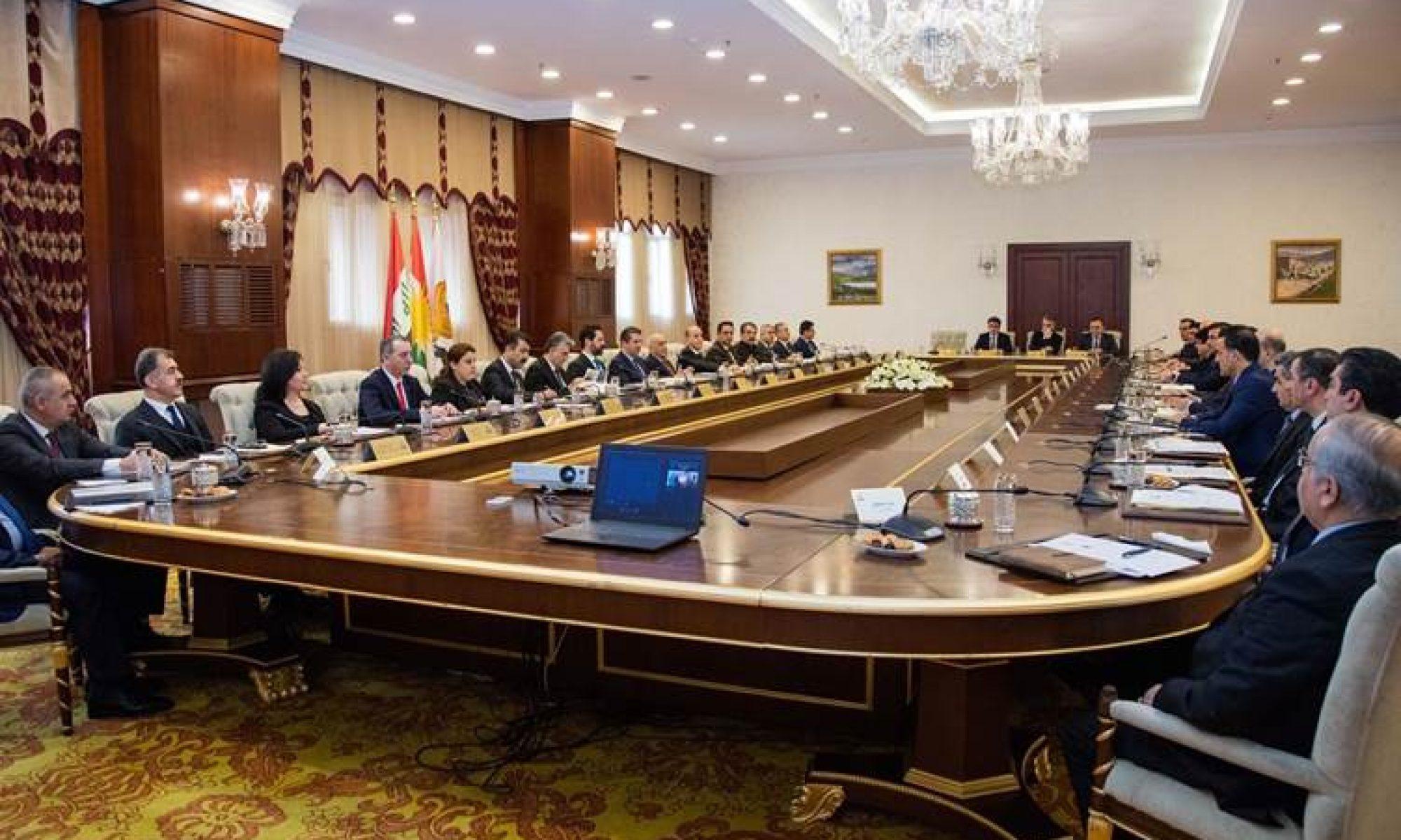 Kürdistan Bölgesi hükümeti koronavirüse karşı alınan kararları açıkladı