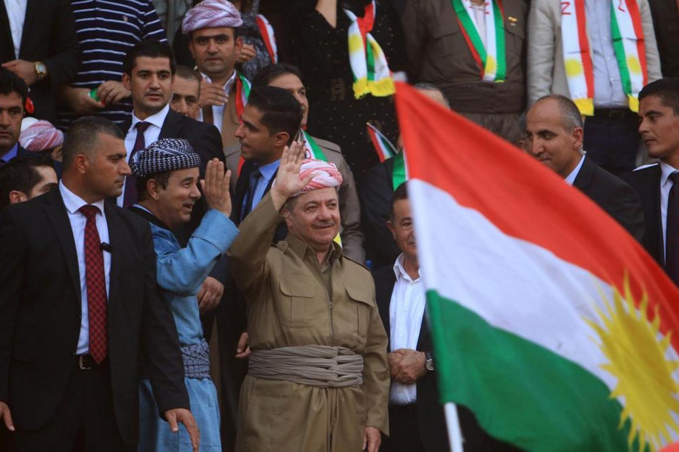 Barzani: Halkımız asla zulmü kabul etmeyecek