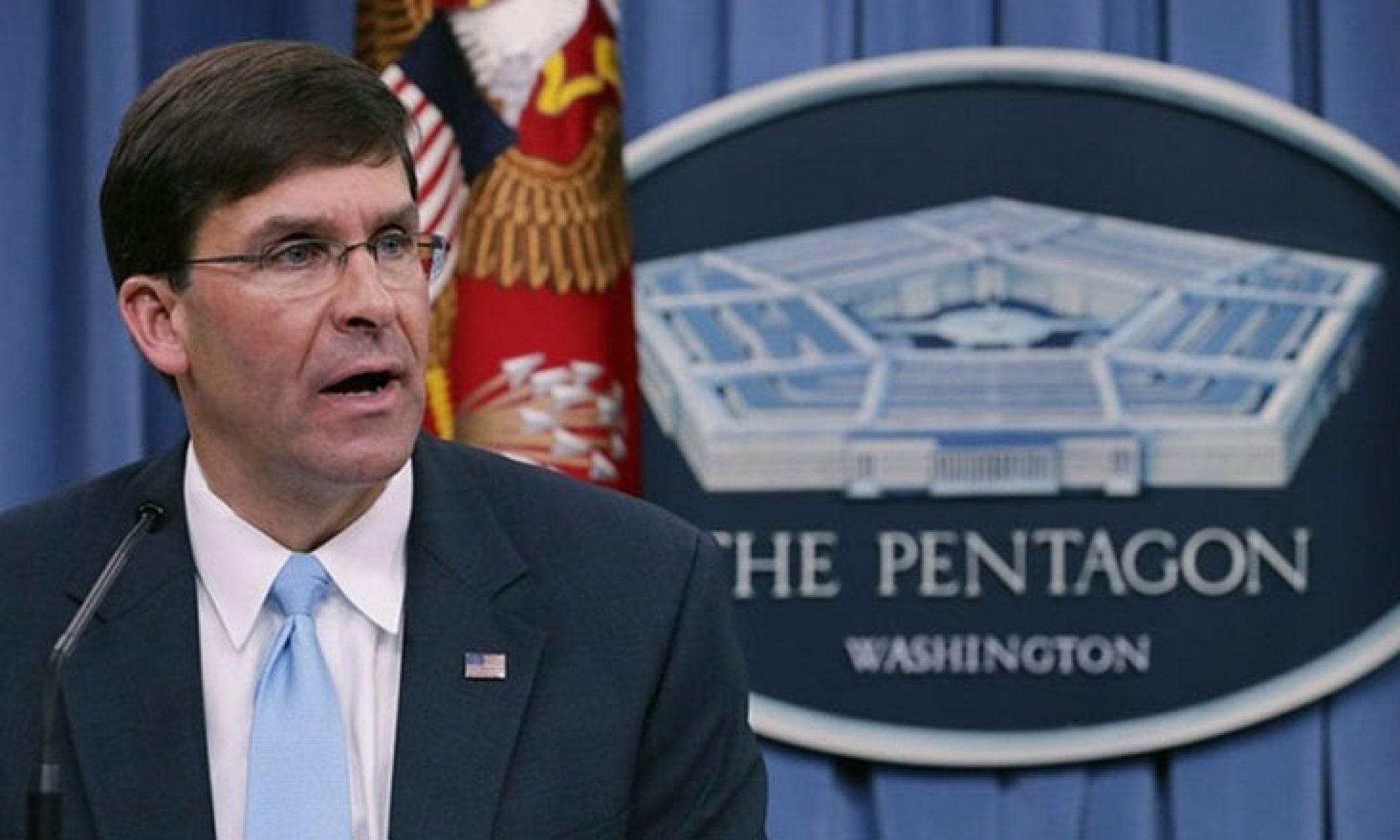 Pentagon: Türkiye'ye hava desteği sağlamayacağız
