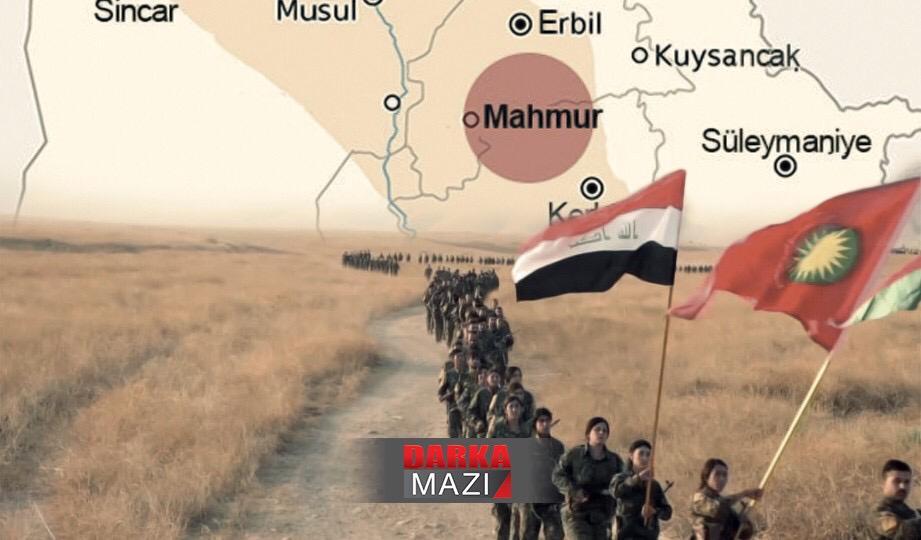 Mahmur Kampı, PKK, KDP, Barzani, Haşdi Şabi