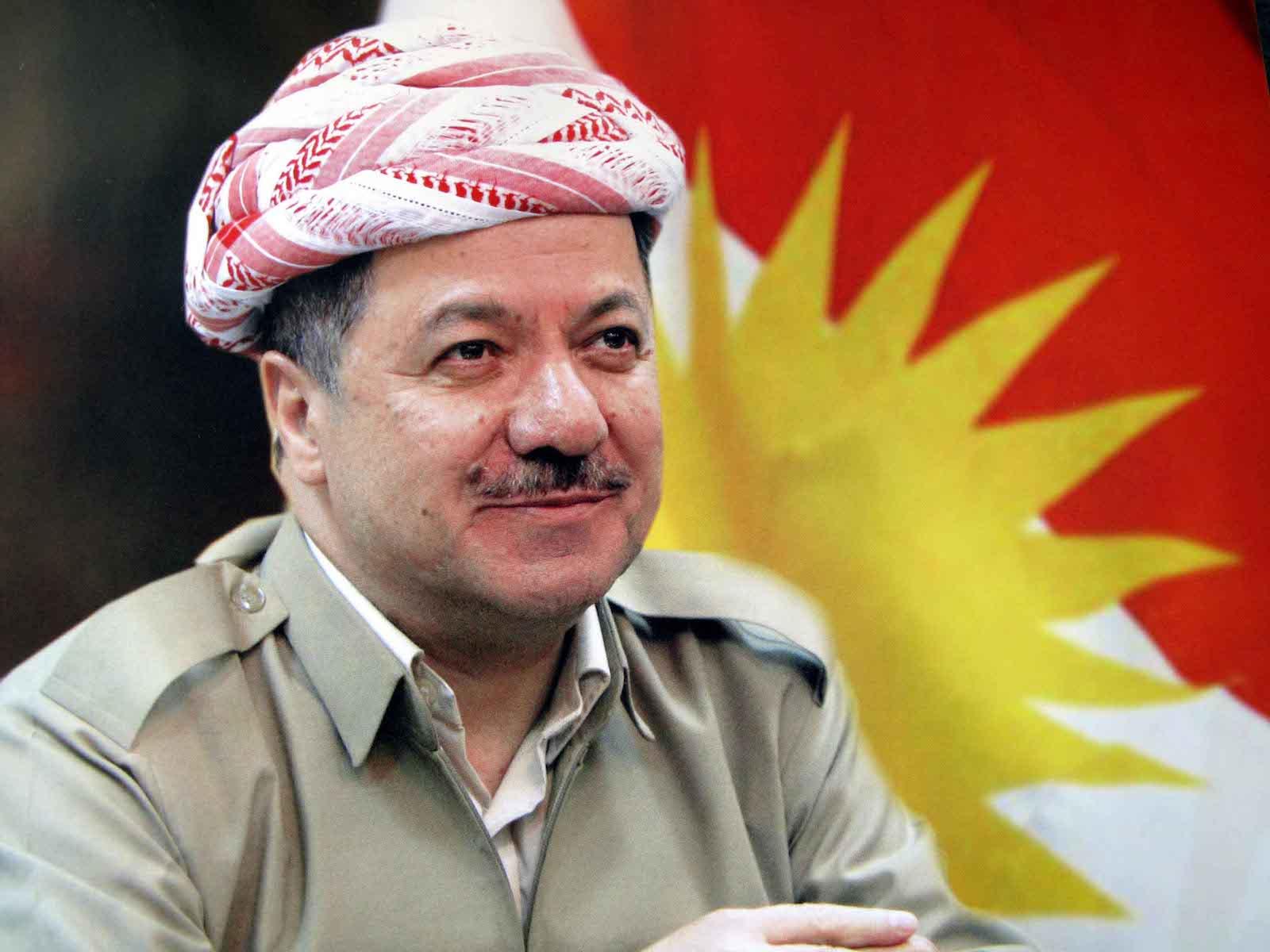 Başkan Barzani: cepheye gidip görevimi yaptım