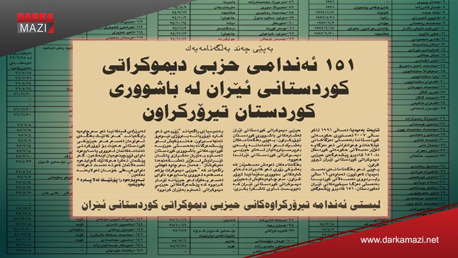 YNK 29 yıl içinde 540 Doğu Kürdistanlı yurtseveri İran'a teslim etmiş