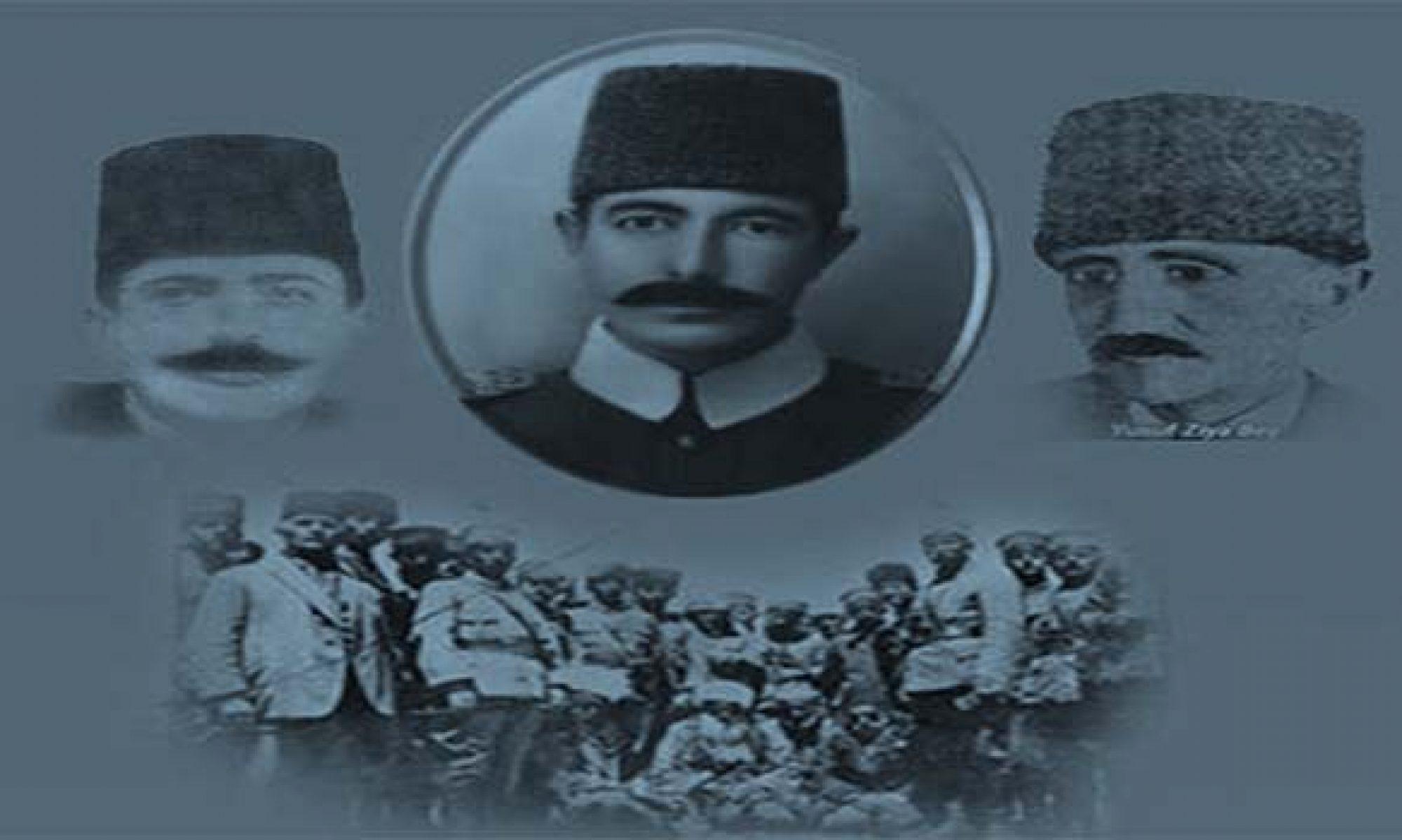 Bu gün Cıbranlı Halid Bey, Yusuf Ziya Bey ve arkadaşlarının idam edilişinin. 95. yıl dönümü