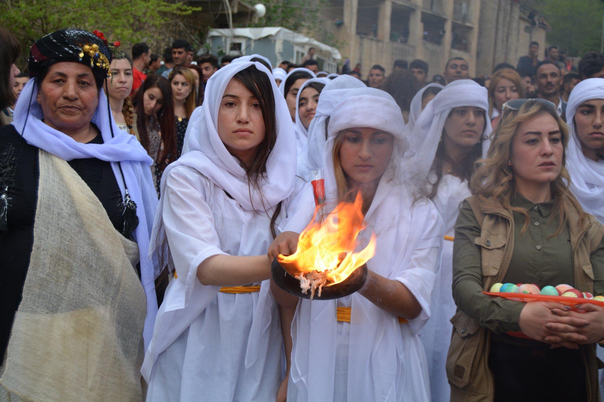 Yezidi Kürtlerin Çarşema Sor ( Kızıl Çarşamba) bayramı bu yıl kutlanmayacak