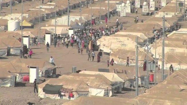 Erbil'de bir mülteci kampı karantinaya alındı