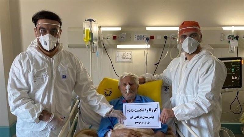 İran'da 106 yaşındaki Coronavirüs hastası iyileşti