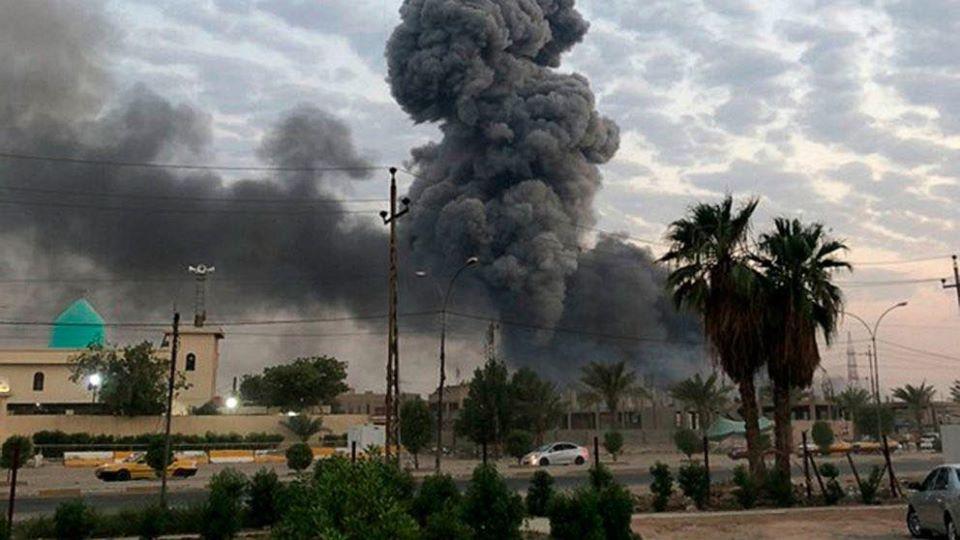 Kerkük, Irak istihbarat binası önünde intihar saldırısı