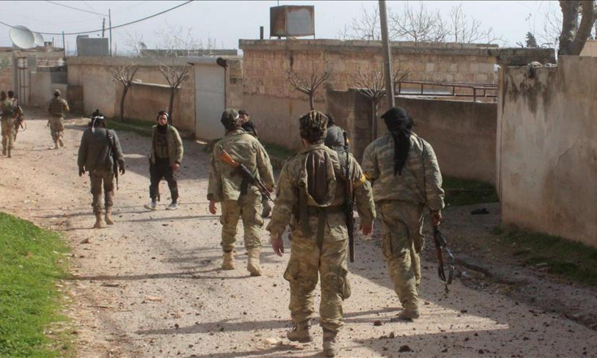Afrin'de silahlı gruplar tarafından kaçırılan 5 Kürt kadın, ÖSO'ya bağlı Hamza Tümeni'ne bağlı bir karakoldaki hapishanede bulundu