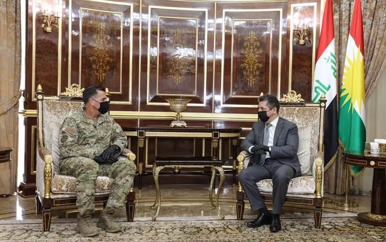 ABD'li komutan: Kürdistan Bölgesi, ABD'nin önemli bir ortağıdır