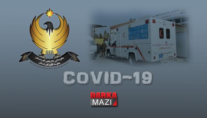 Kürdistan Bölgesinde 10 yeni coronvirüs vakası Duhok, Süleymaniye, Erbil, Hewler, Covid-19