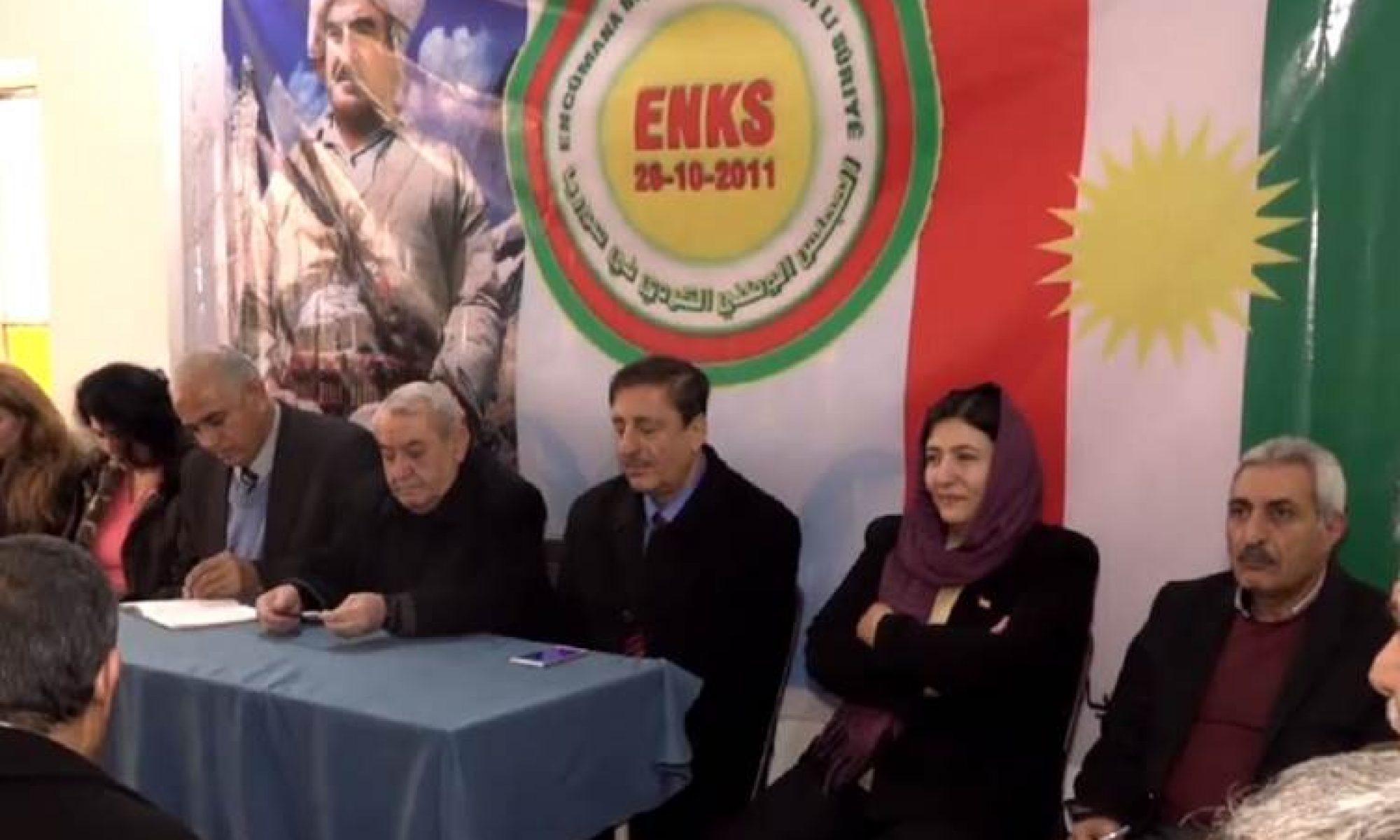 ENKS heyeti Erbil'de toplandı