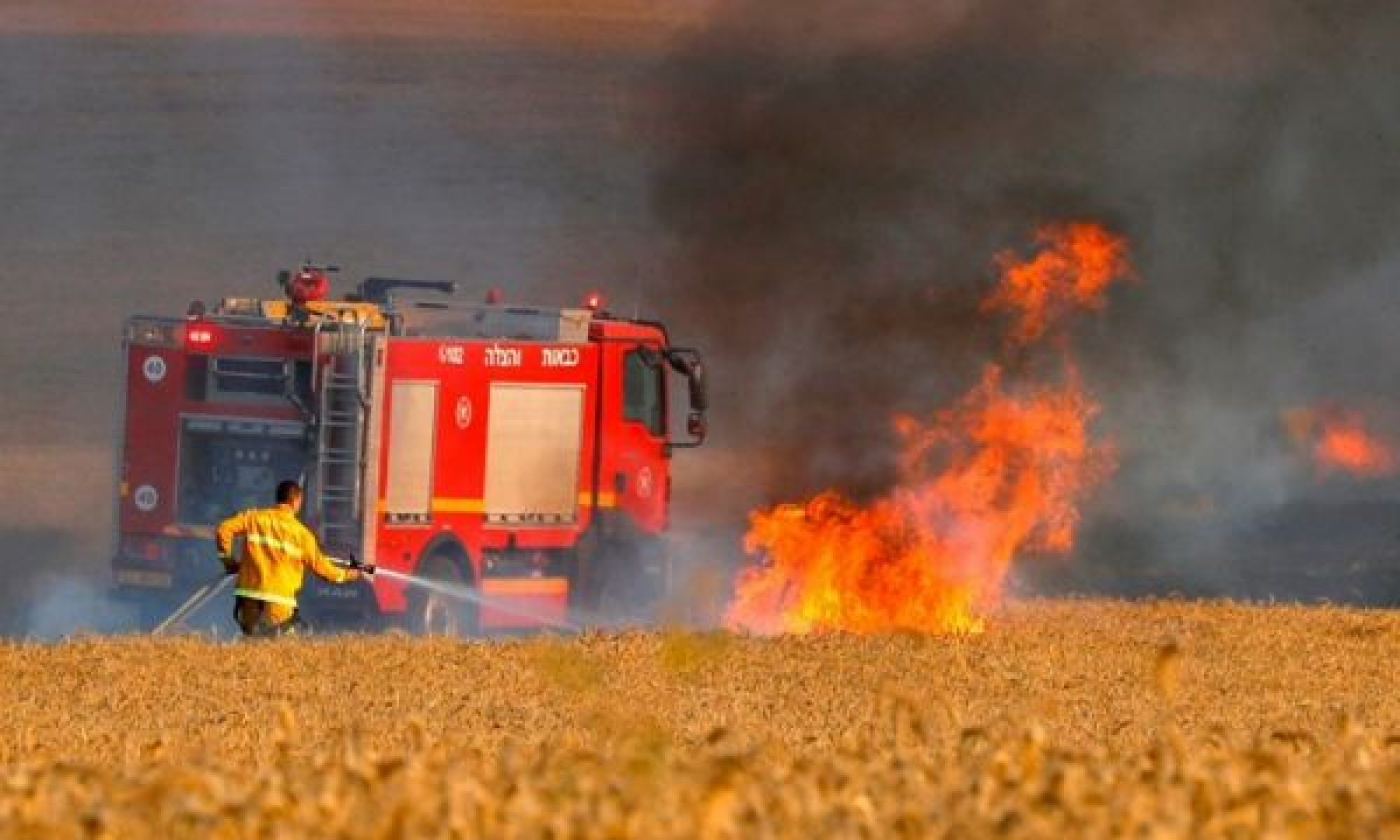 Bayramın ikinci günü yine Kürt çiftçilerin ekinlerini yaktılar
