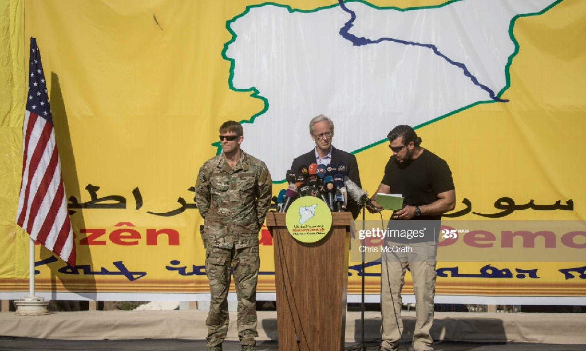 """William Roebuck,ABD temsicisi Roebuck'tan Rojava Yönetimine """"çoğulcu sisteme ekonomik destek"""" sözü"""