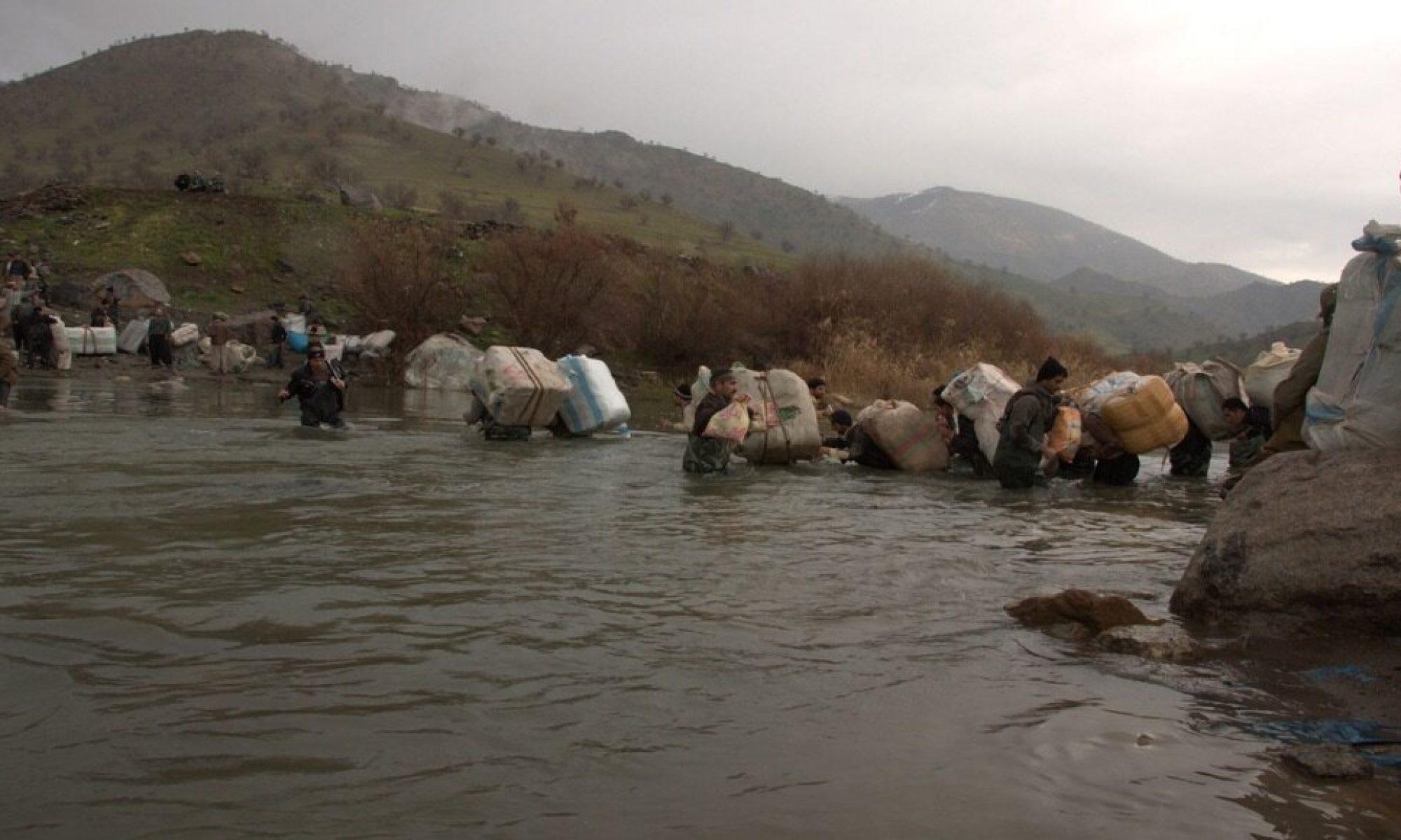 Doğu Kürdistan - Gadare nehrine düşen bir kolber boğuldu
