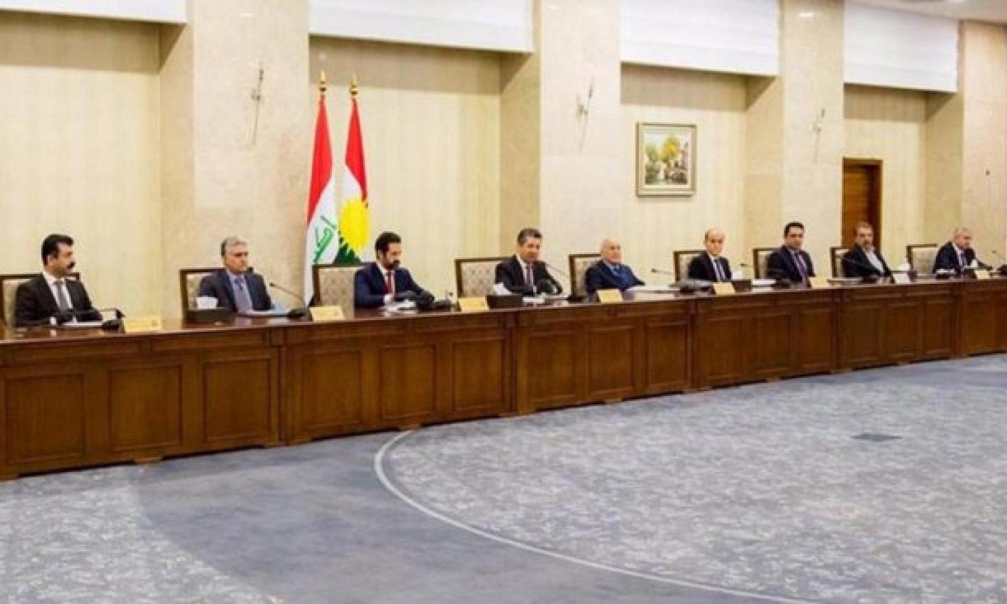 Kürdistan Hükümeti'nden yeni kararlar