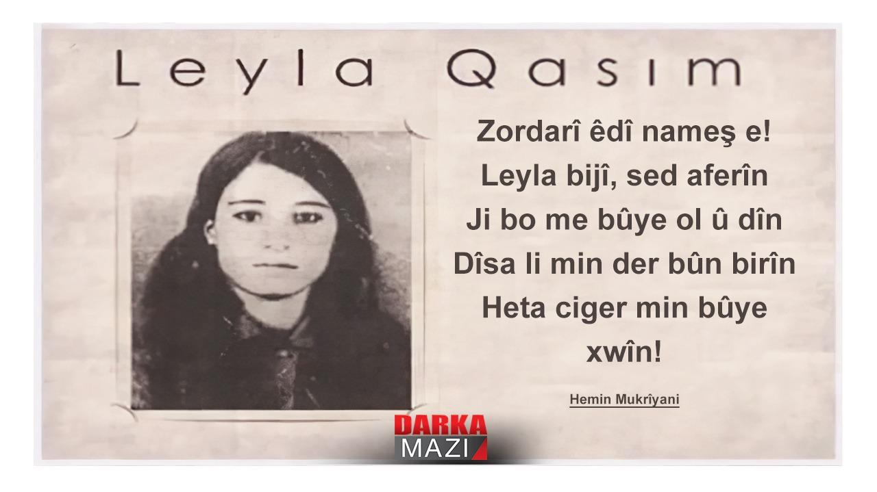 Kürtlerin Leylasının idam edilişinin üstünden 46 yıl geçti Leyla Qasım, Leyla Kasım, Saddam, Kürdistan