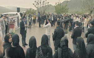 Duhok'ta PKK'nin kaçırdığı genç için eylem