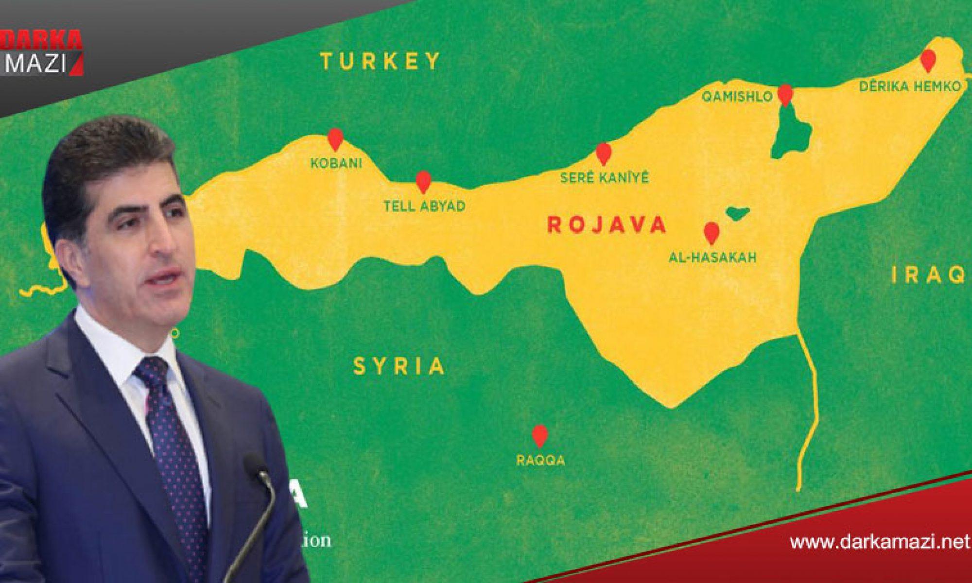 Kürdistan Bölgesinden Rojavaya dört laboratuvar daha gönderildi Neçirvan Barzani, Kürt ulusal birliği KRG