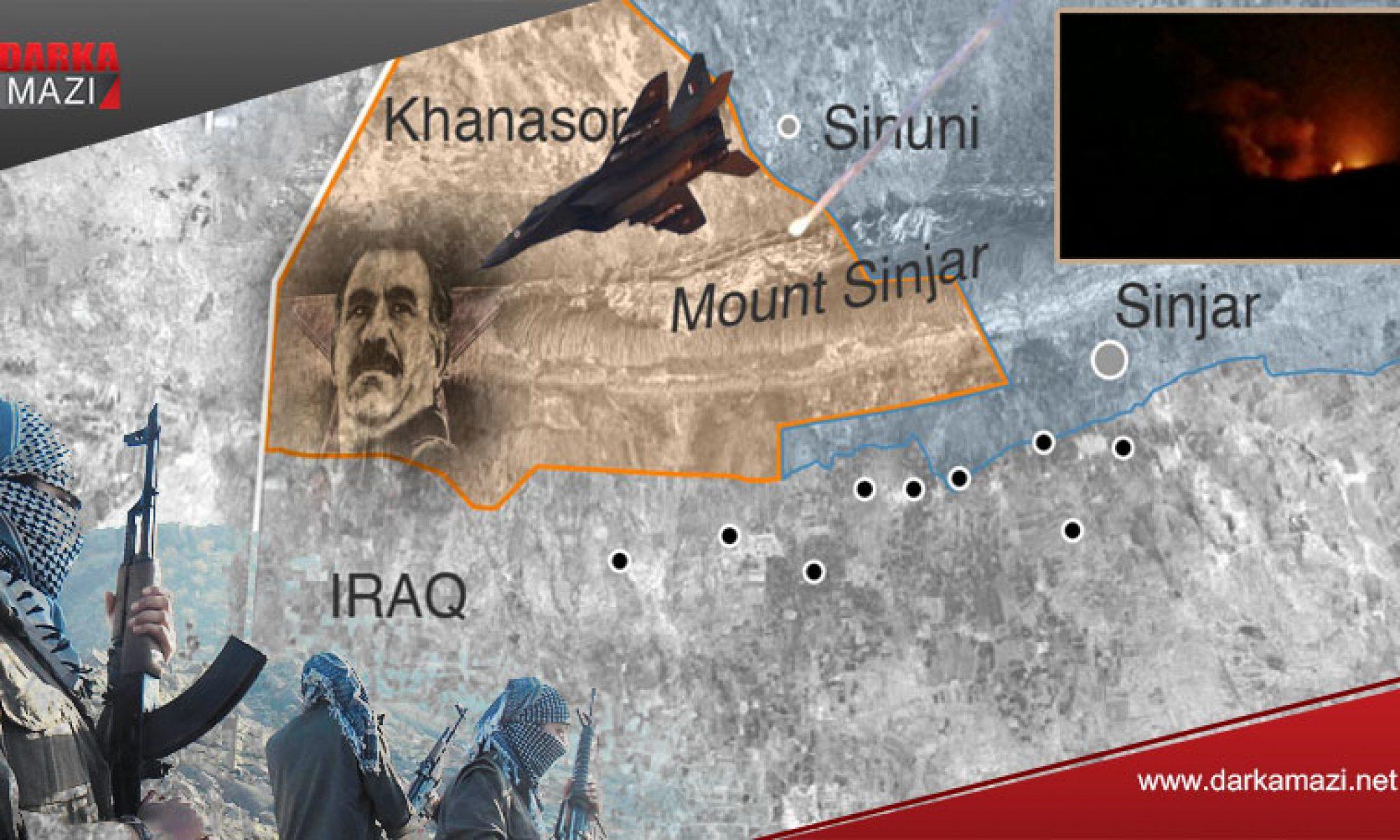 Dün gece Güney Kürdistan'da neler oldu? PKK operasyondan haberdar mıydı? Kartal Pençe, TSK, Şengal, Kandil, Maxmur, Avaşin