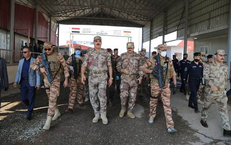 Bağdat askeri heyeti ve Peşmerge sorumluları Zaxo kırsalında incelemelerde bulundu