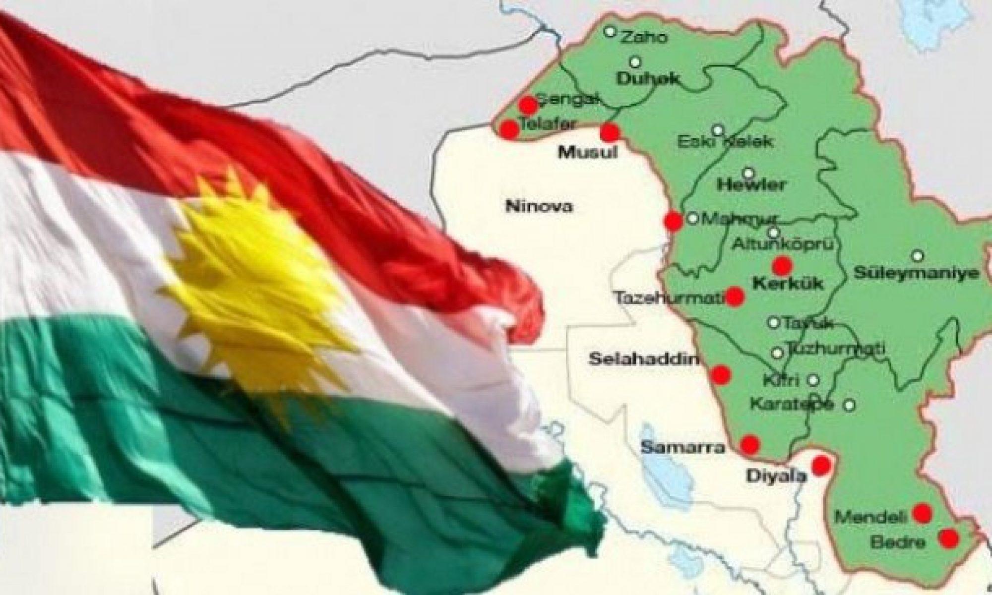 """Tuğgeneral Ebdulkerim """"Kürdistani Bölgelerdeki terörist eylemler 16 Ekim ihanetinin sonucudur"""" Kerkük, Xanaqin, Diyala, Şengal, Musul"""